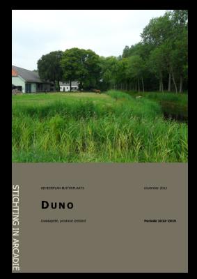 Beheersplan Duno